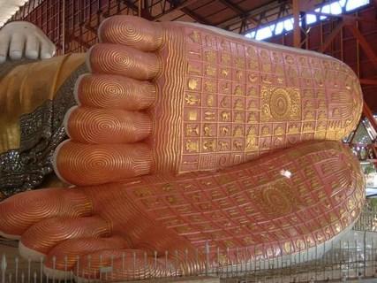 Pieds de Bouddha